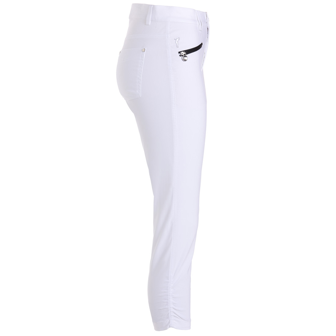 Damen Golf-Caprihose Techno Stretch in Slim Fit