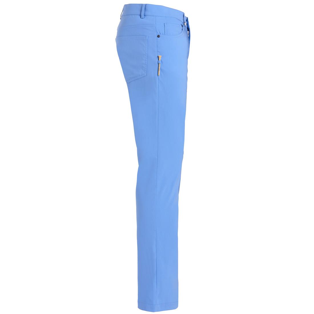 5-Pocket Stretch-Performance Golfhose in Slim Fit mit UV-Schutz