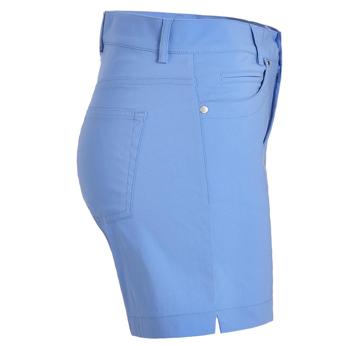 Kurze Damen Golfshorts Techno Stretch mit UV-Schutz