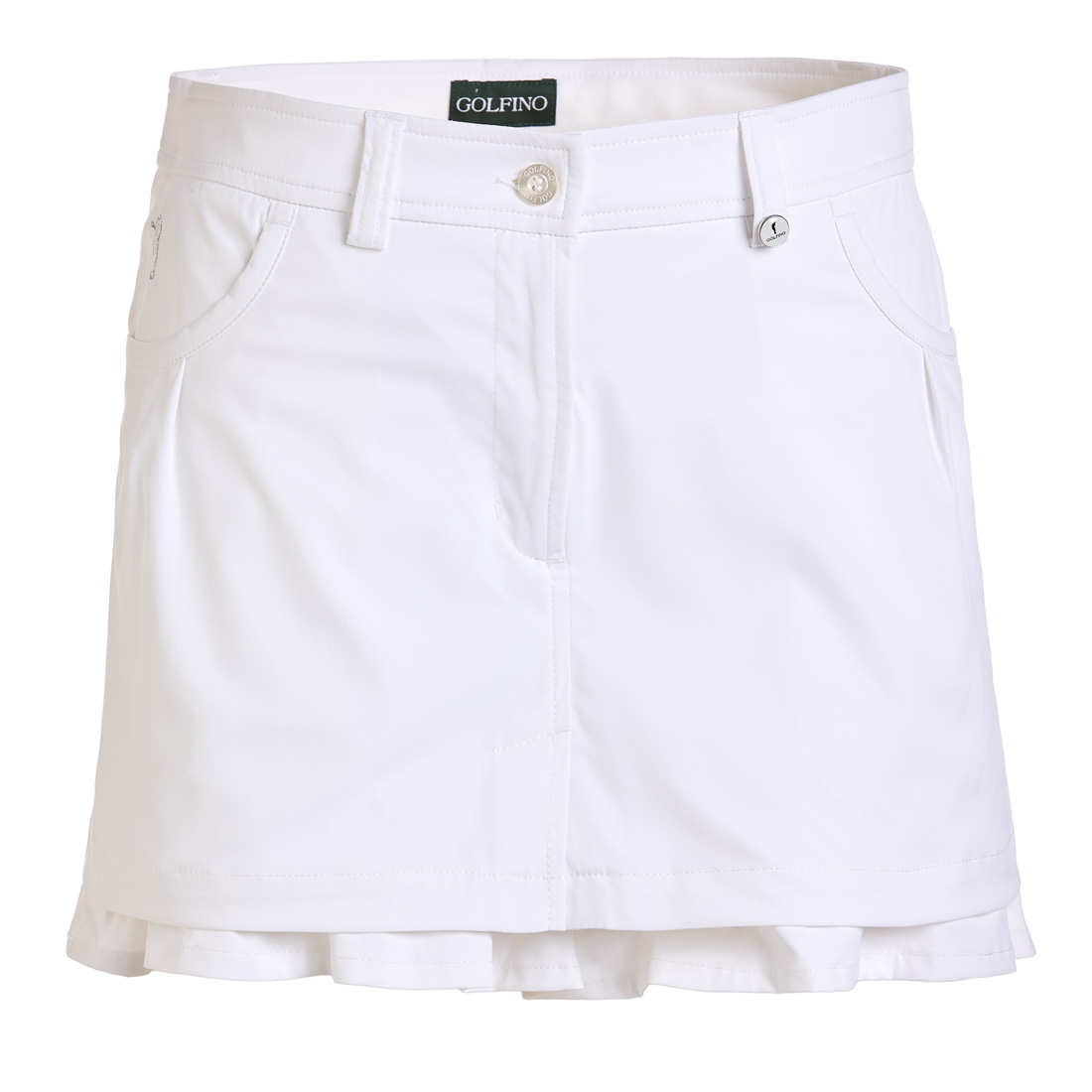 Mini Golfskort Techno Stretch mit Sun Protection