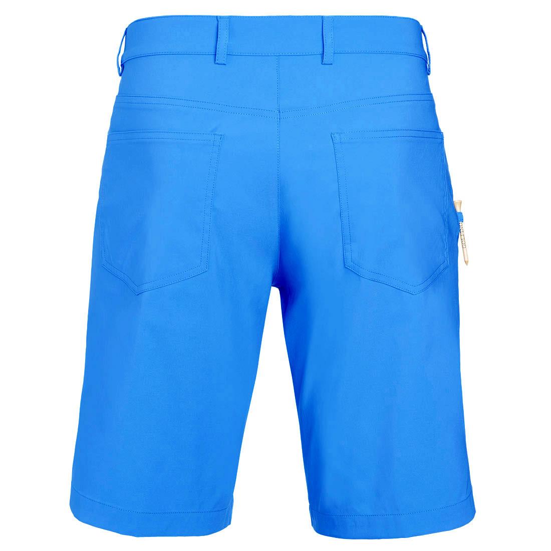 5-Pocket Stretch-Performance Bermuda in Slim Fit mit UV-Schutz