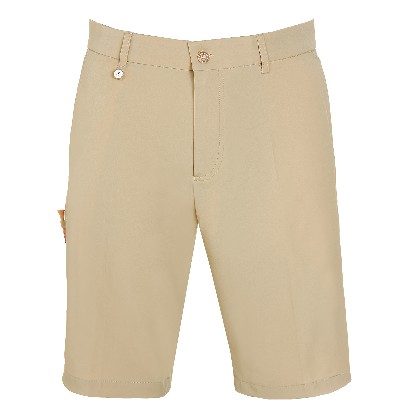 Men's golf Bermudas with slight stretch element