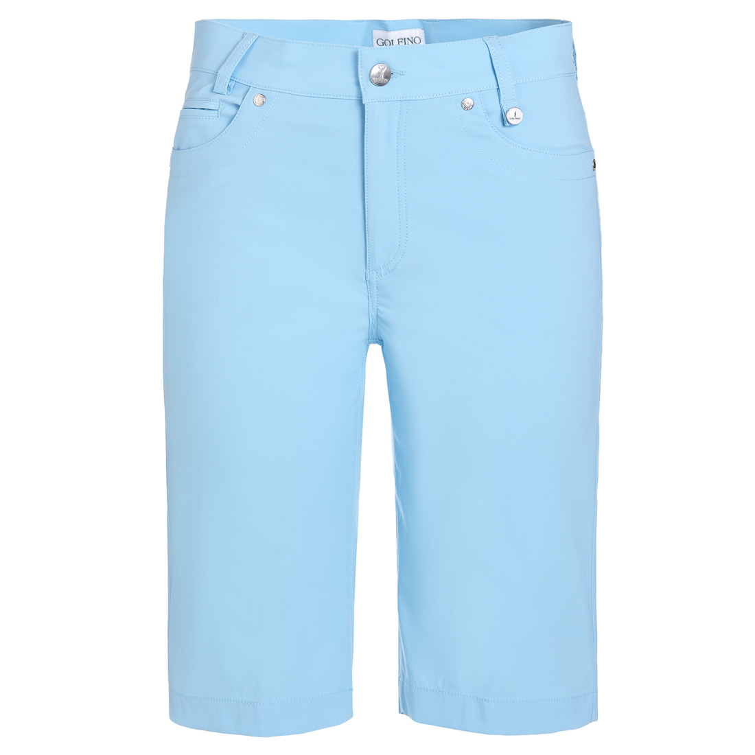 Damen Golf-Bermuda Techno Stretch in Slim Fit