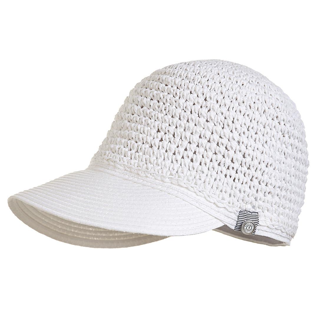 Damen Golfhut aus geflochtenem Papier