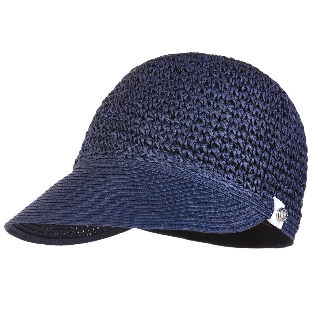 Damen Golfcap aus geflochtenem Papier