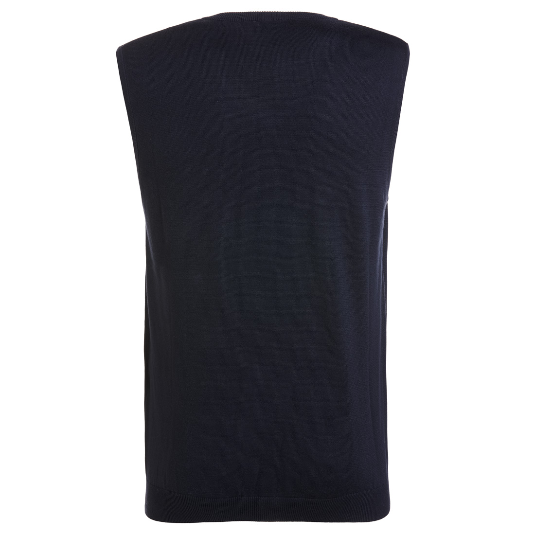 Golf Strickpullunder aus softer Pima Baumwolle mit V-Ausschnitt