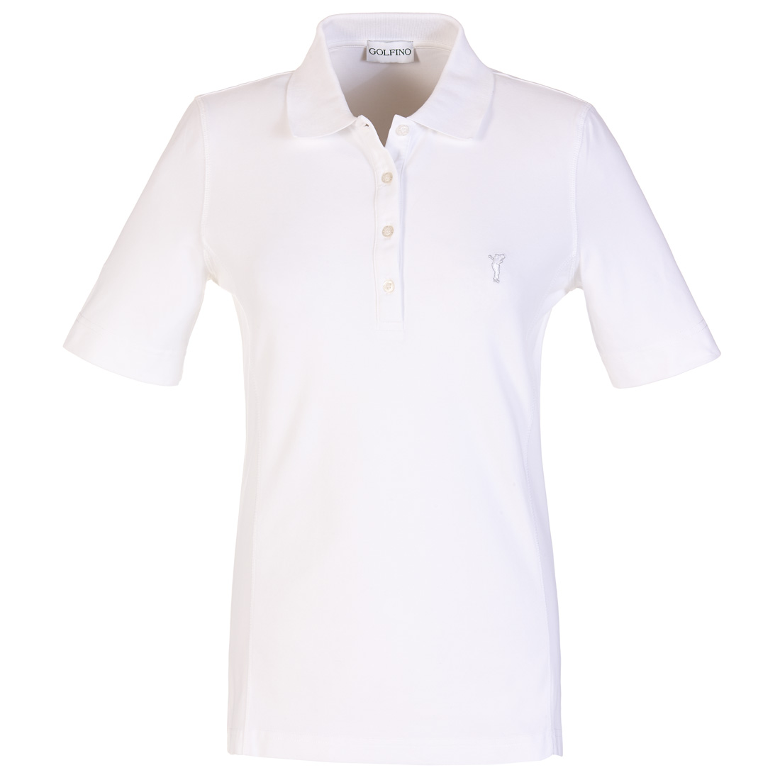 Ladies' short-sleeved functional polo shirt