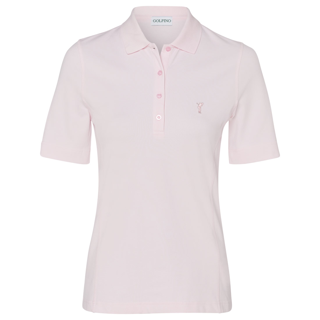 Damen Golf Poloshirt Sun Protection in Slim Fit
