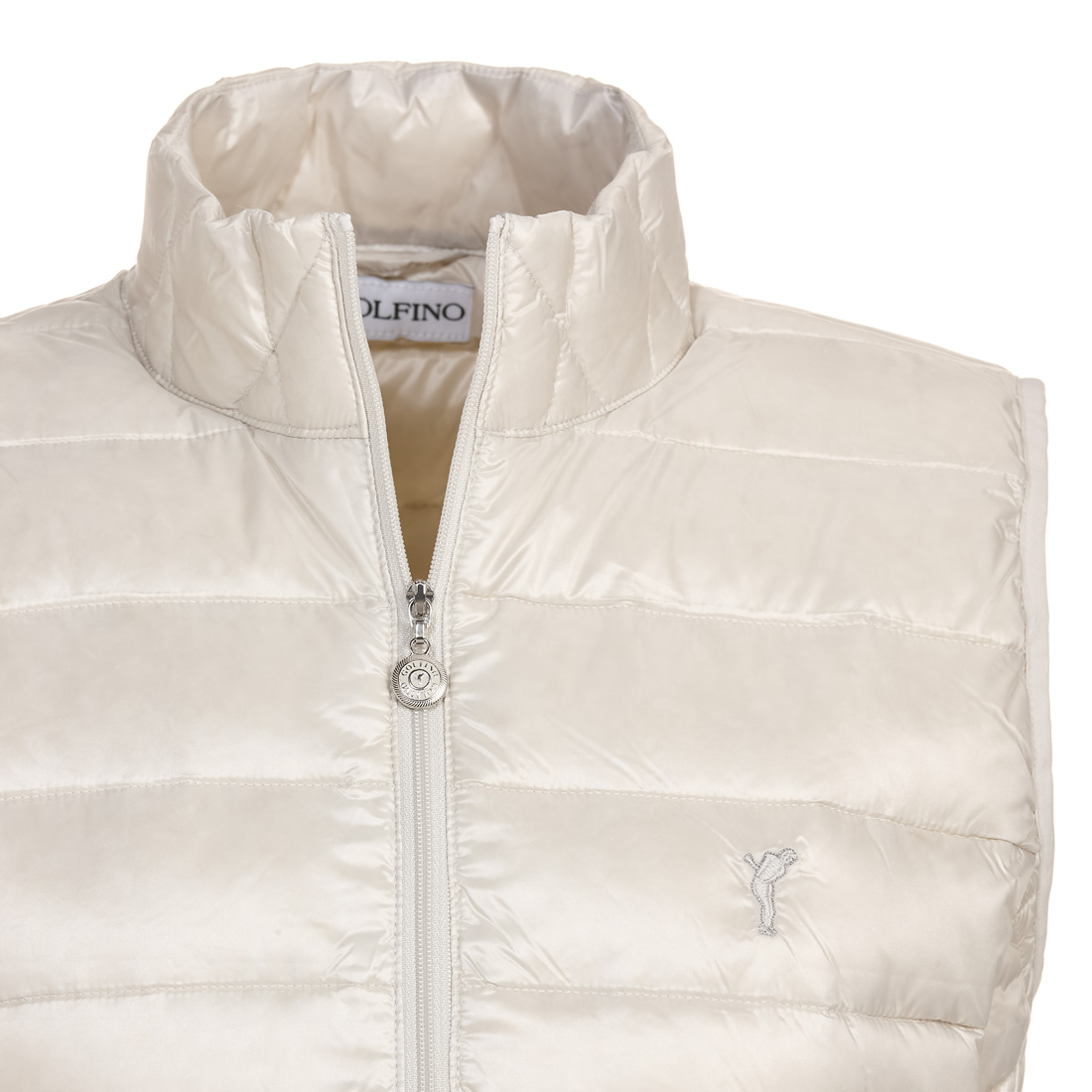Damen Daunen-Golfweste Cold Protection mit Steppmuster
