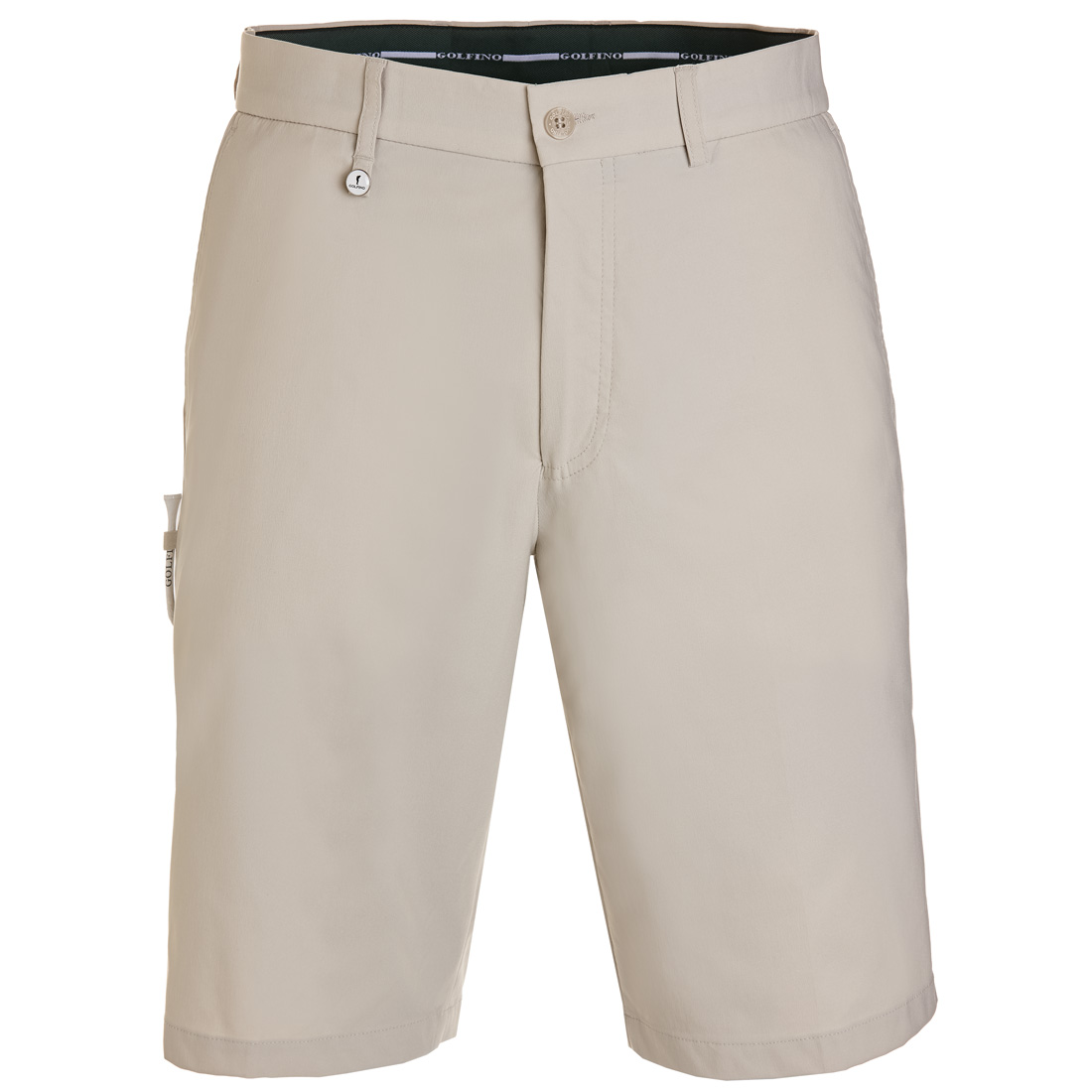 Men's techno stretch sun protection golf Bermudas in regular fit