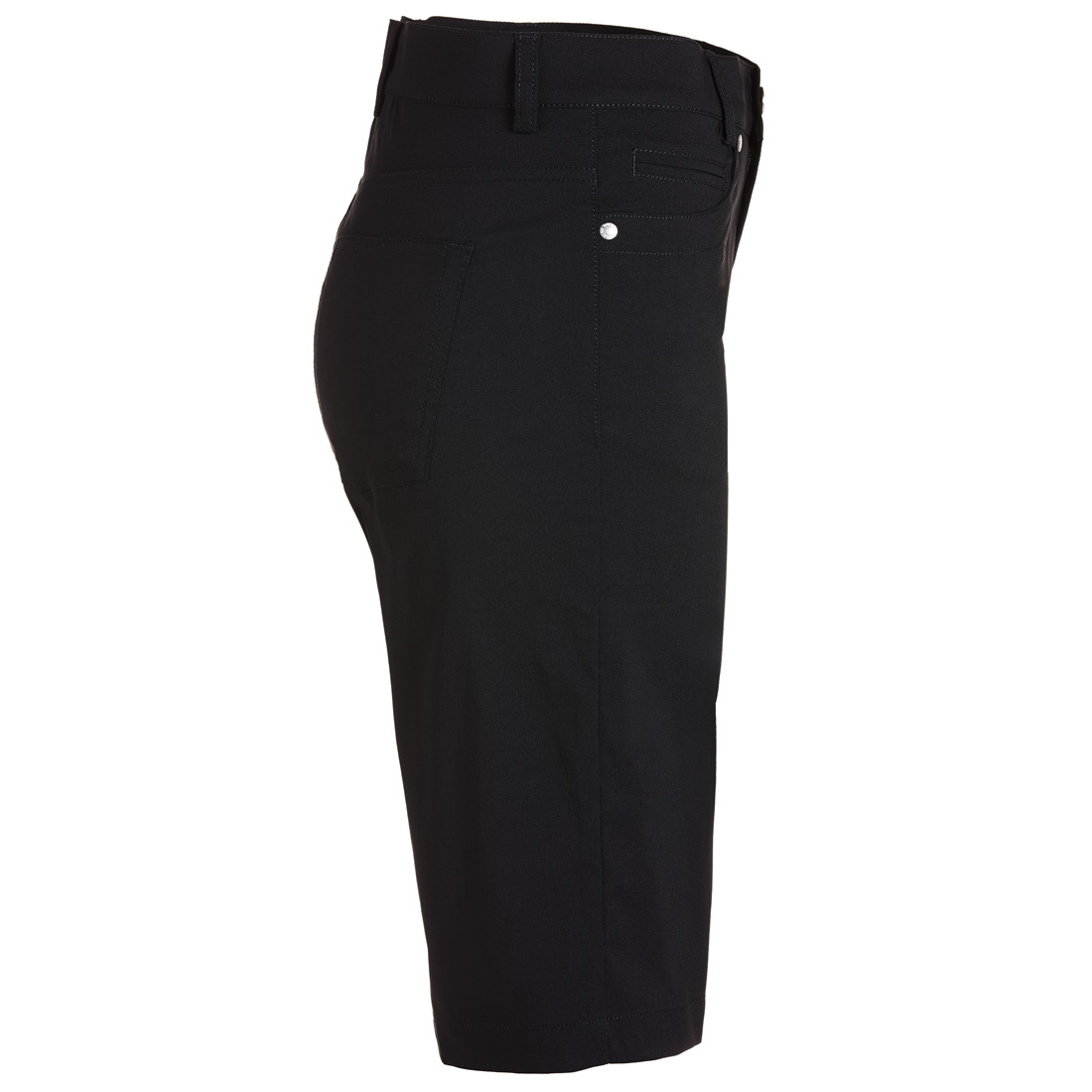 Damen Golfbermuda 5-Pocket Techno Stretch mit UV-Schutz in Slim Fit