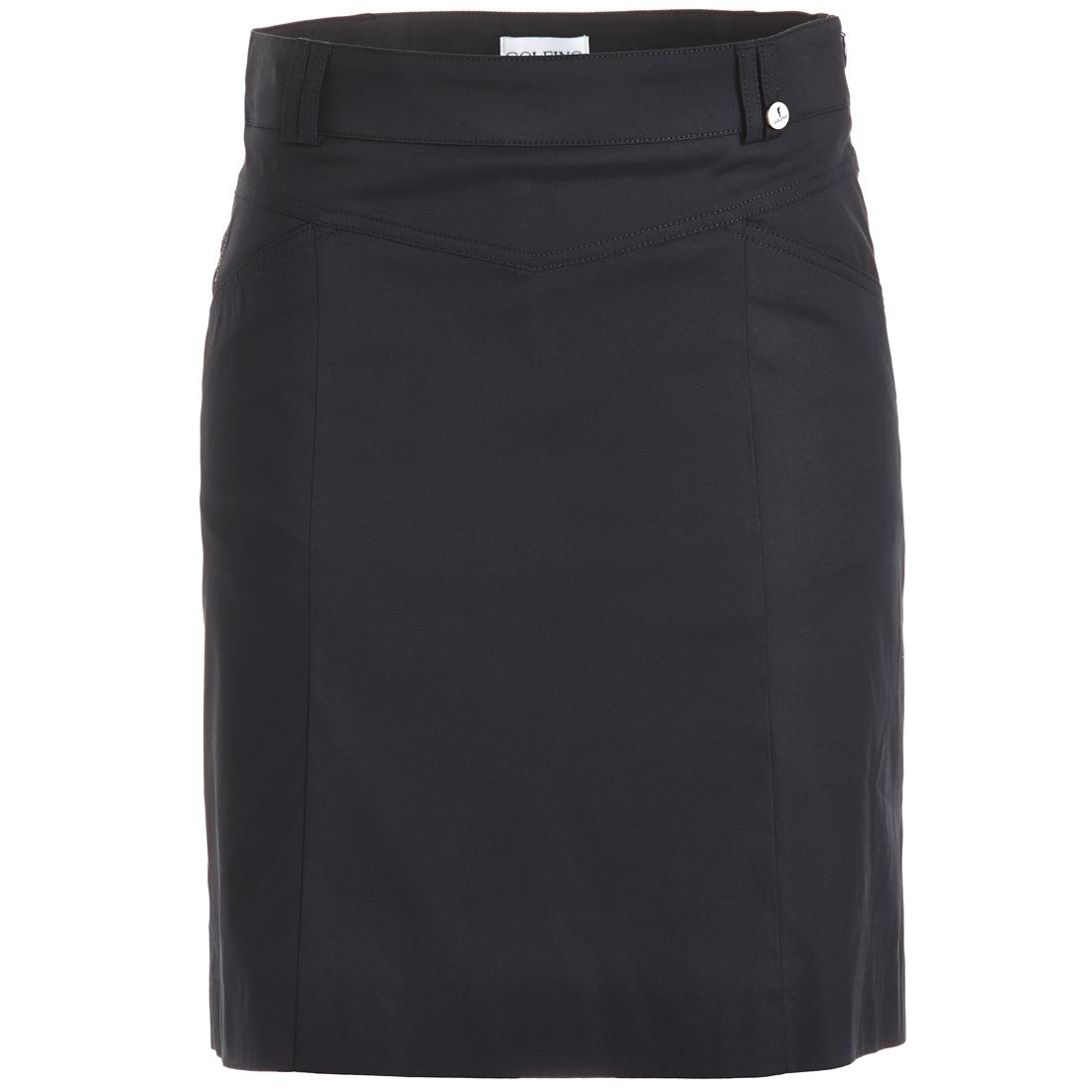 Golfskort aus Baumwoll-Stretch mit UV-Schutz in Comfortable Fit