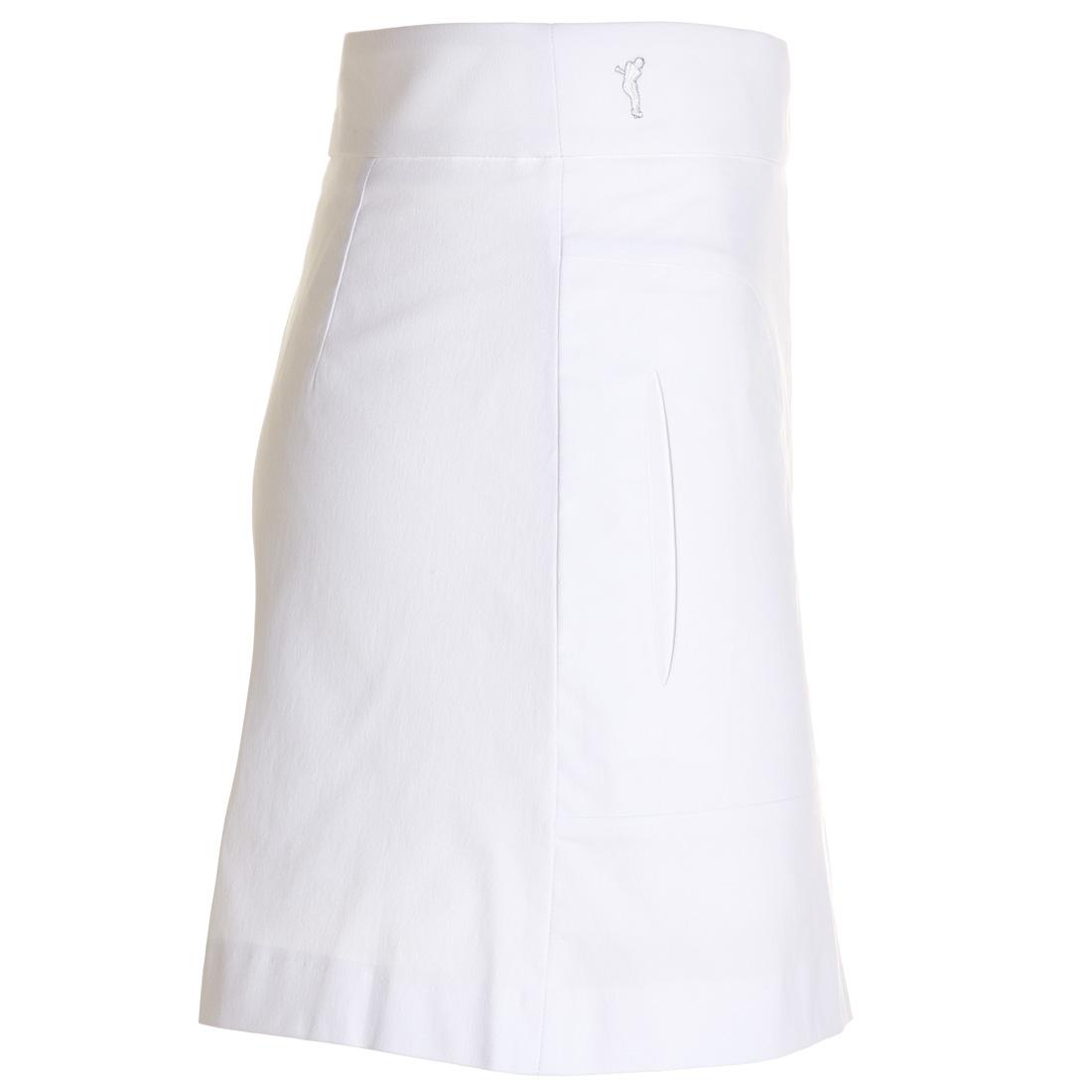 Kurzer Golfrock aus Baumwoll-Stretch mit UV-Schutz in Comfortable Fit