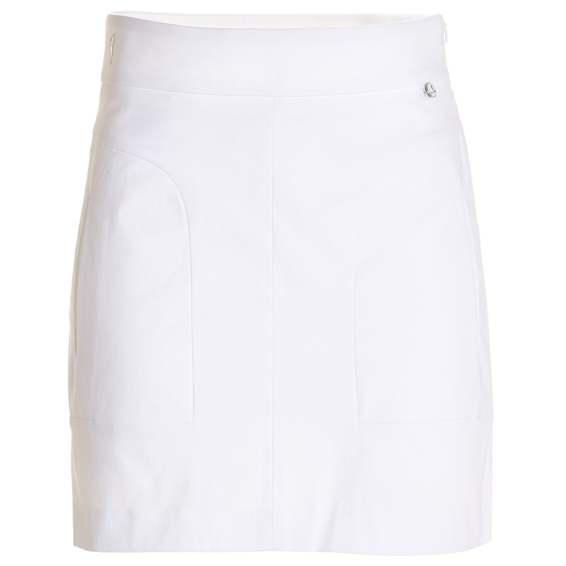 Short golf skirt in cotton stretch with UV protection in comfortable fit