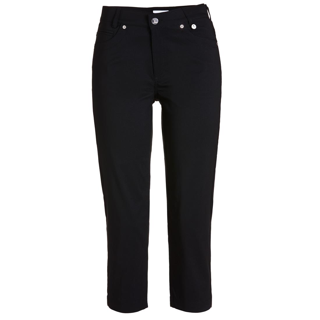 5-pocket golf Capri pants in techno stretch in slim fit