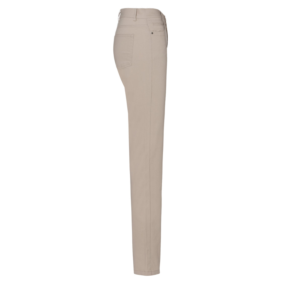 Damen Golfhose aus feinem Baumwoll-Mix in Slim Fit