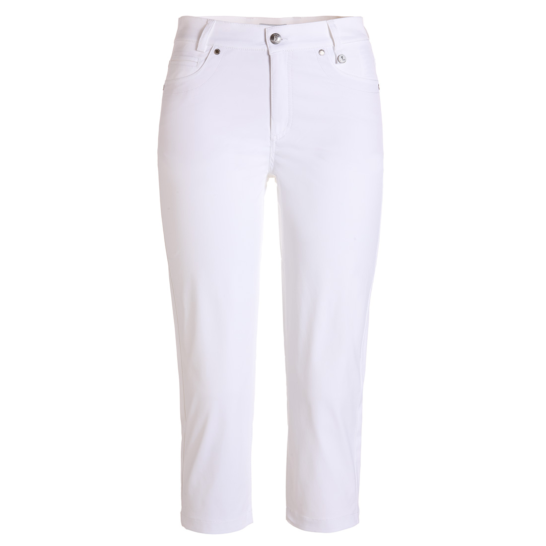 Golf Capri pants with UV protection and techno stretch