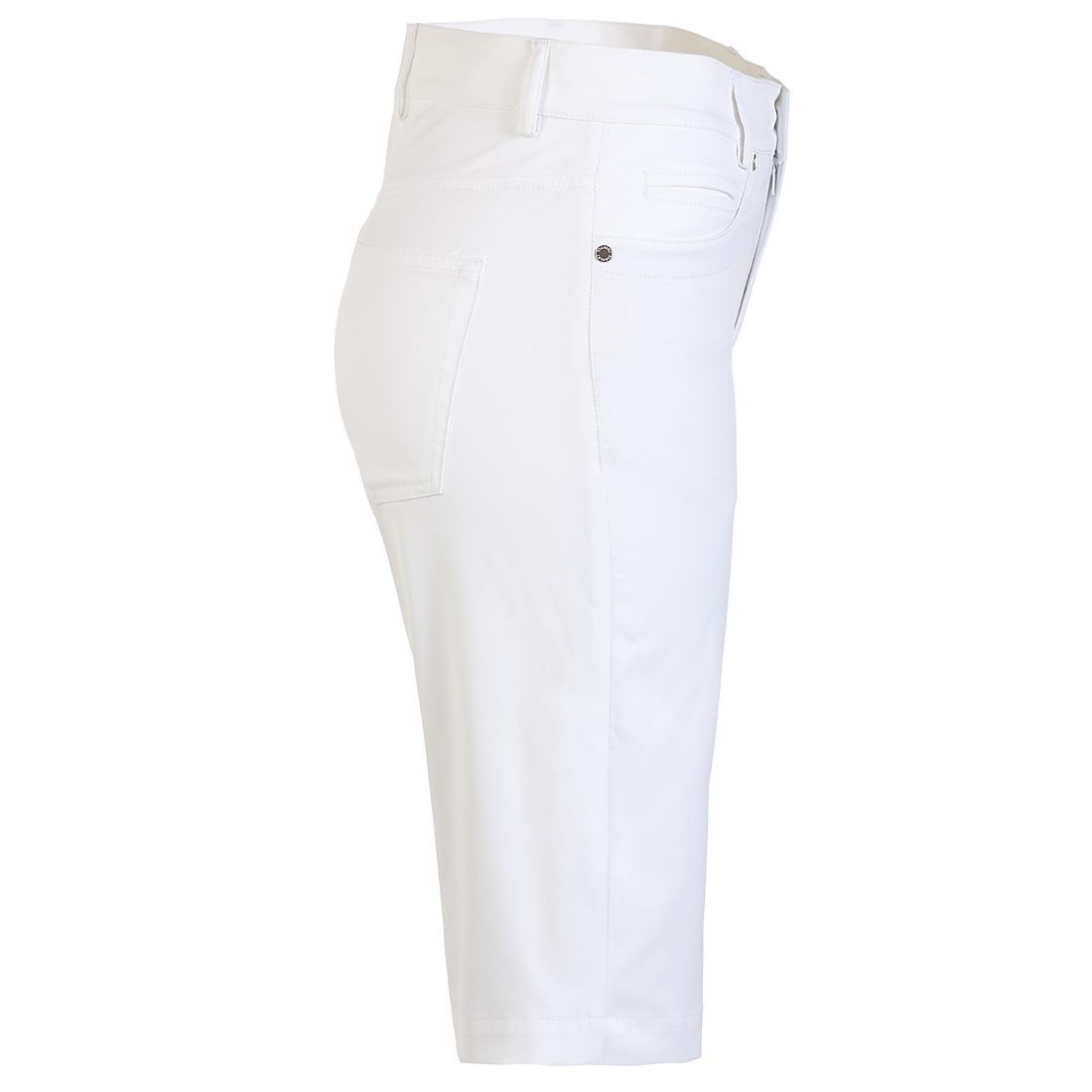 Golfbermuda 5-Pocket aus Baumwoll Stretch mit UV-Schutz in Slim Fit