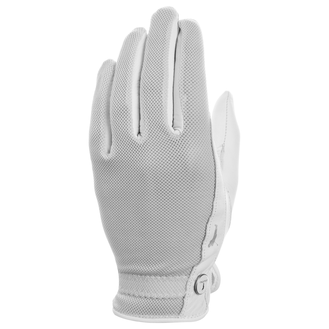 Ladies' golf gloves with mesh