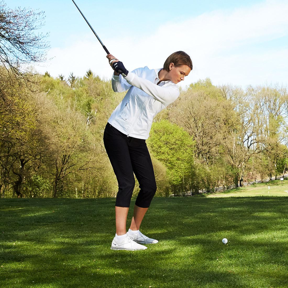 Golf Caprihose 5-Pocket Techno Stretch in Slim Fit