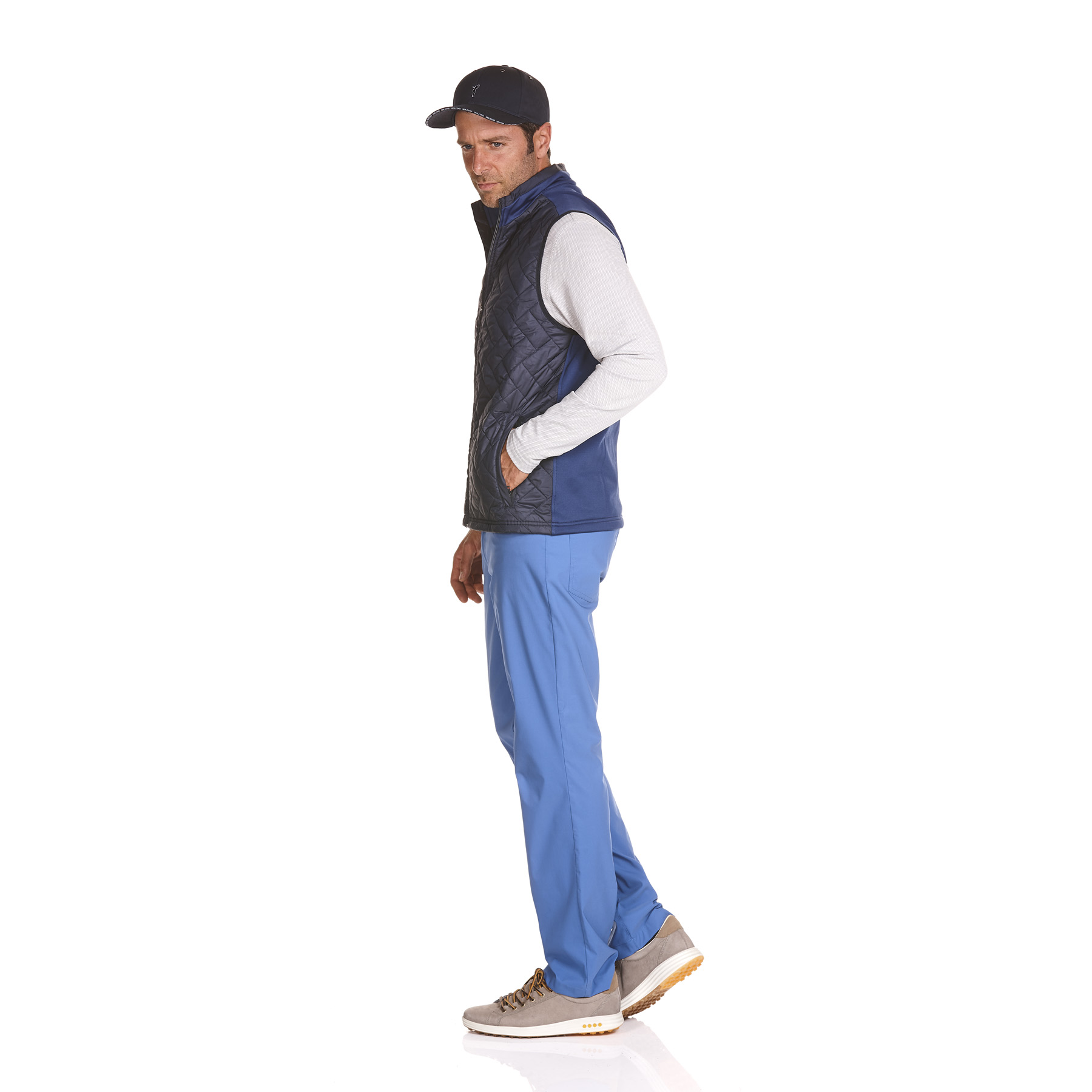 Herren Golfweste Kampen mit Wind Protection Funktion