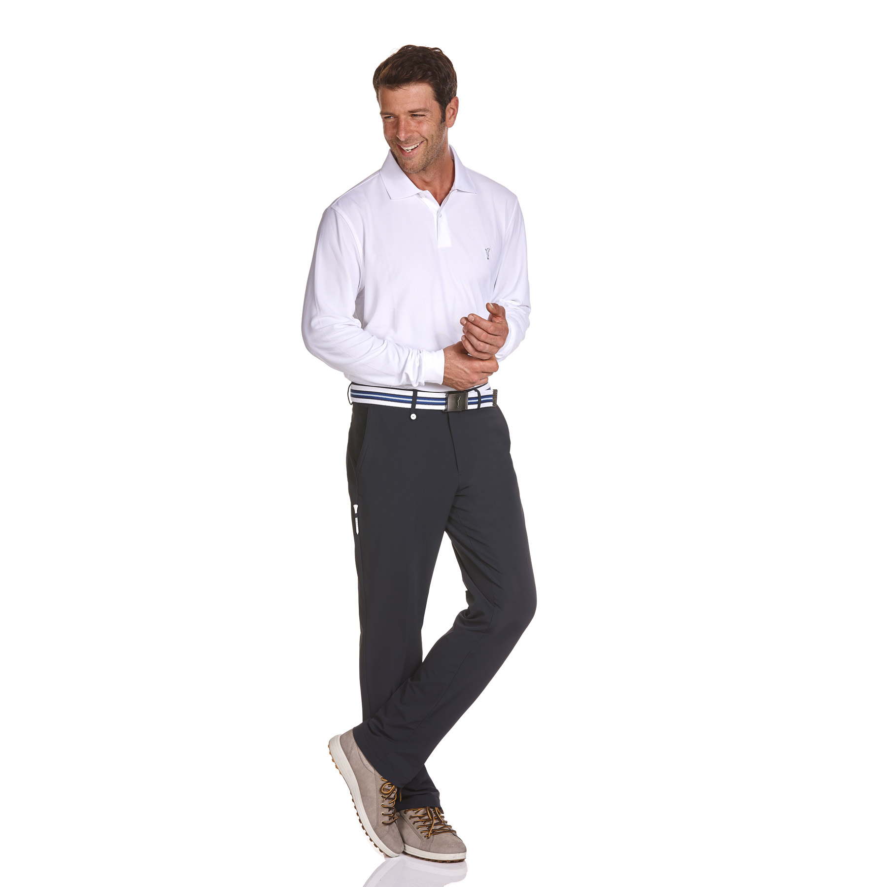 Herren 4-Way-Stretch Funktions-Golfhose in Regular Fit