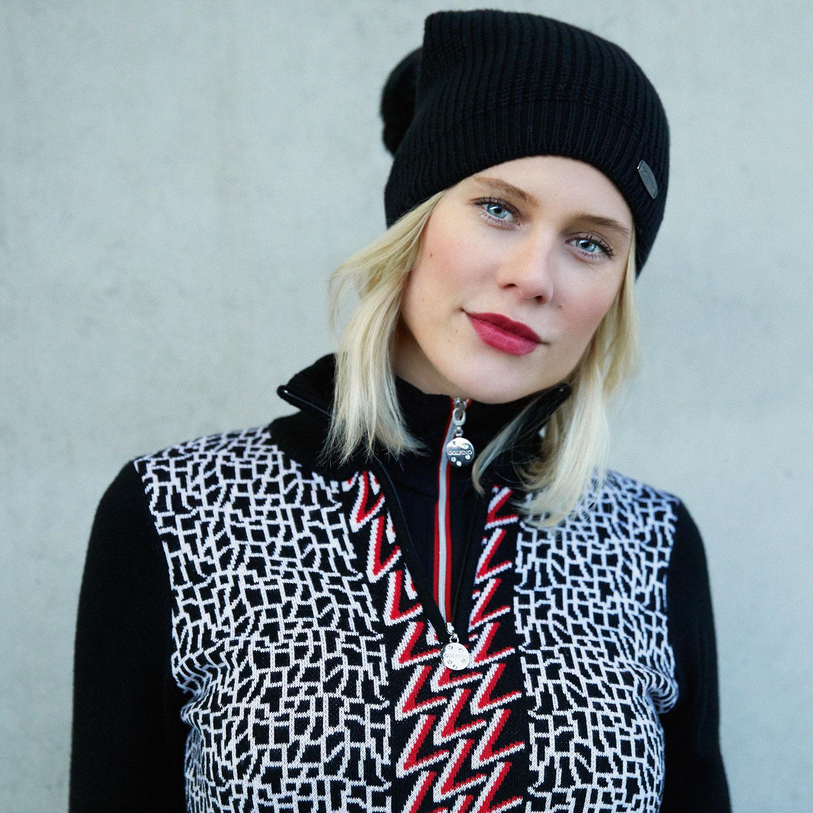 Damen Langarm Funktions-Golfunterzieher Arctic Troyer mit Stretchfunktion
