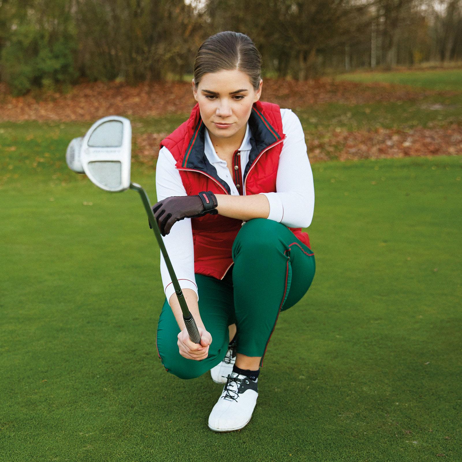Premium Damen Windprotection Golfweste mit sehr guten Isolationswerten