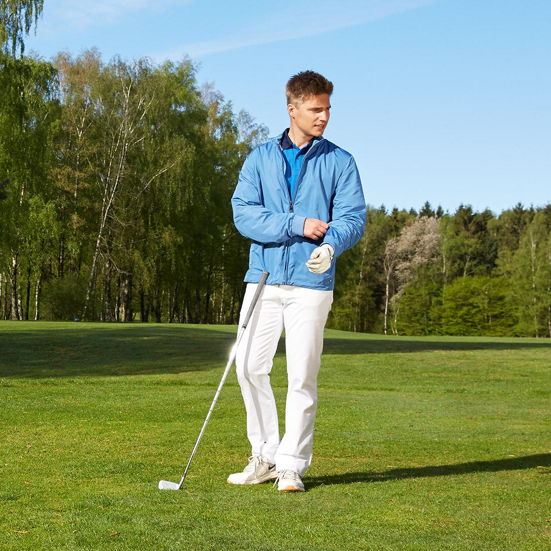 Herren Funktions-Golfjacke