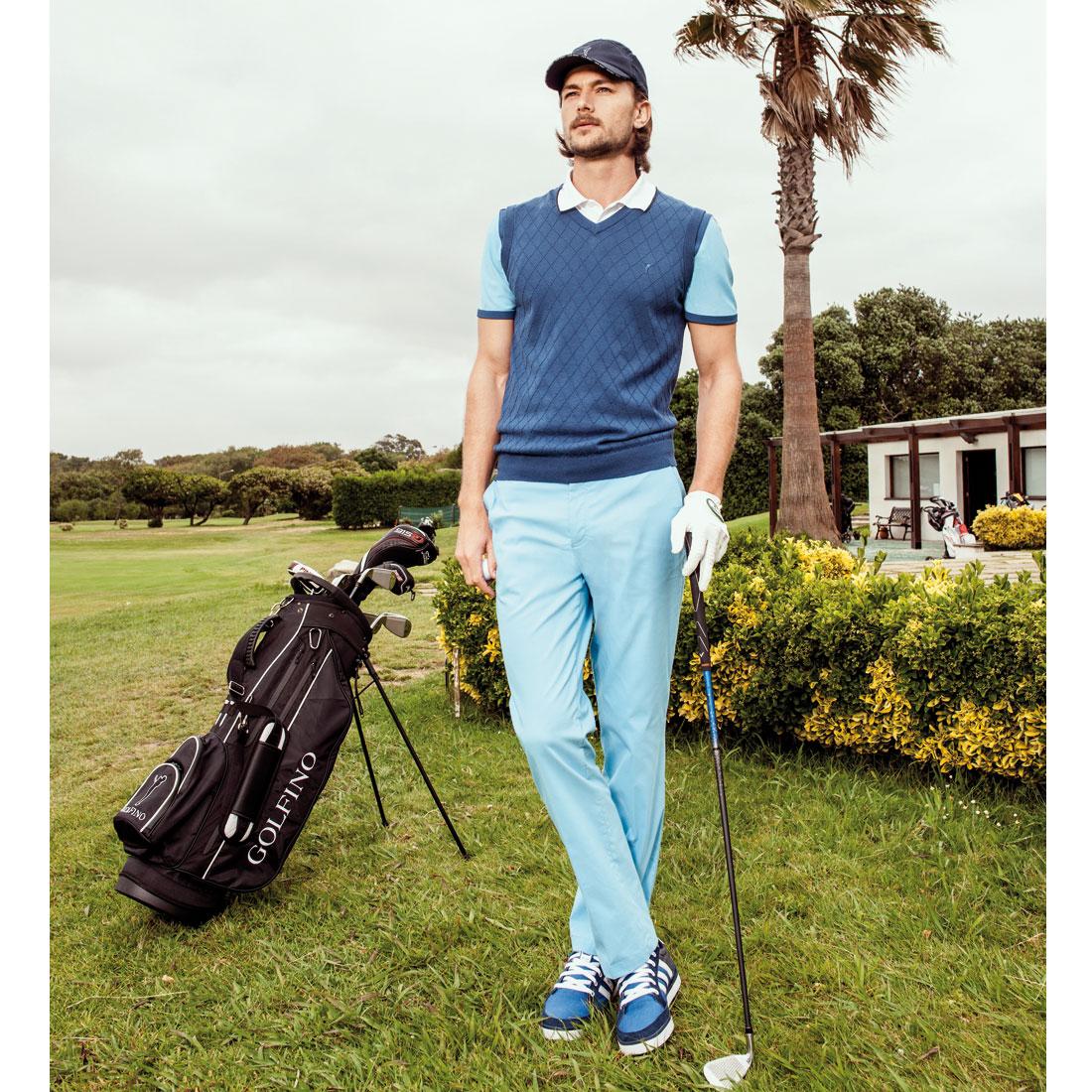 Herren Golfhose Techno Stretch in Regular Fit