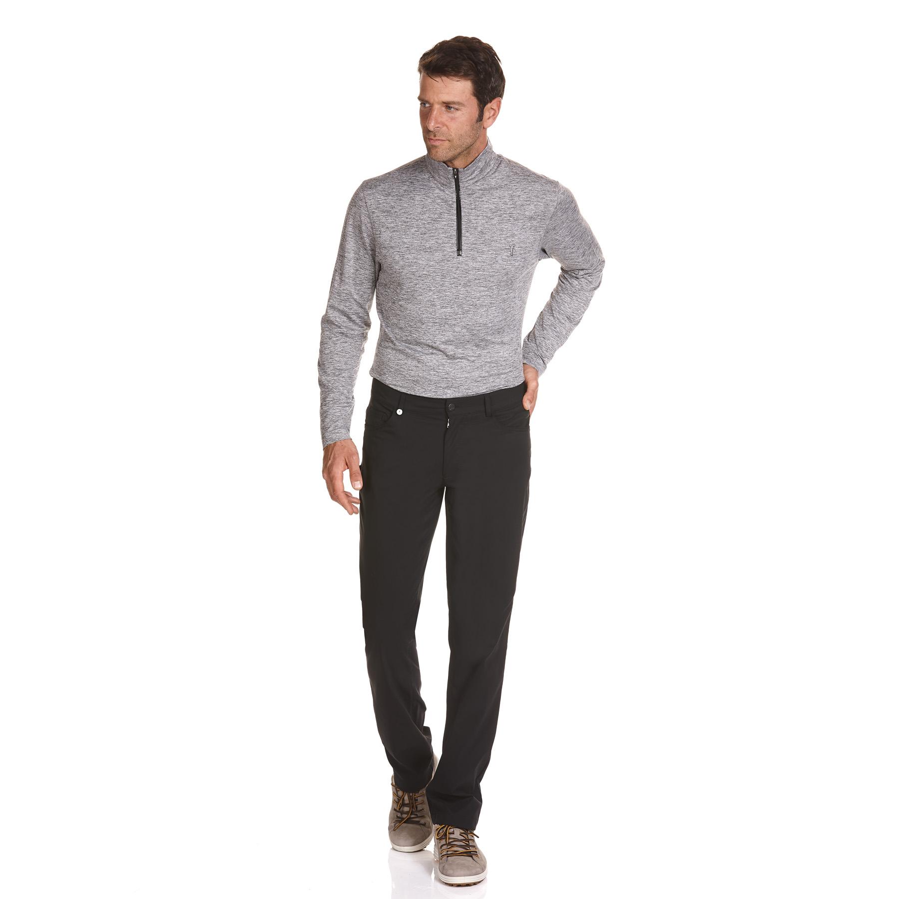 Warme 5-Pocket Herren Stretch Golfhose Cold Protection in Slim Fit