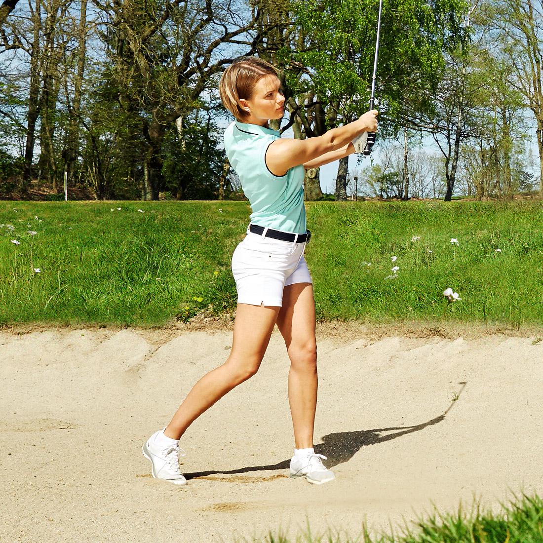 Damen Golfshorts