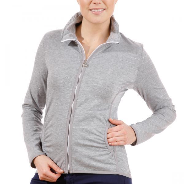 GOLFINO Glitzernder Jersey Sweater