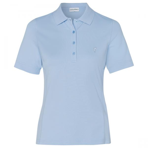 GOLFINO Damen Kurzarm Funktions Poloshirt