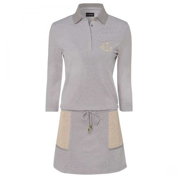 GOLFINO Damen Golf Kleid aus UV piqué Material mit Short