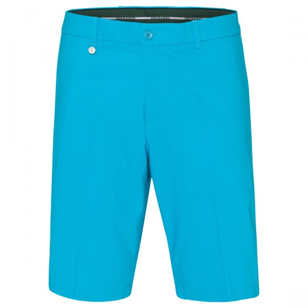GOLFINO Herren Golfbermuda Techno Stretch Sun Protection in Regular Fit