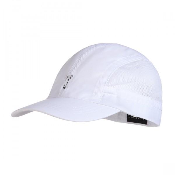 GOLFINO Herren Golfcap aus Mikrofaser mit großen Mesheinsätzen
