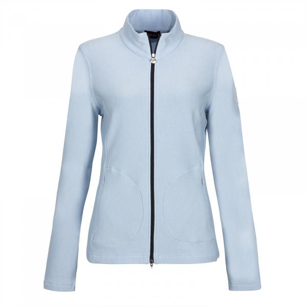 GOLFINO Damen Zip Sweatshirt mit Cold Protection Funktion