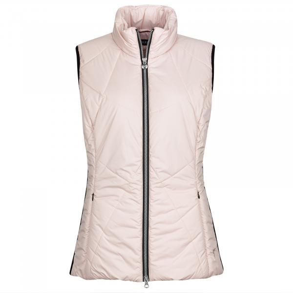 GOLFINO Sportliche Damen Golfweste mit Wind Protection und seitlichen Stretchelementen