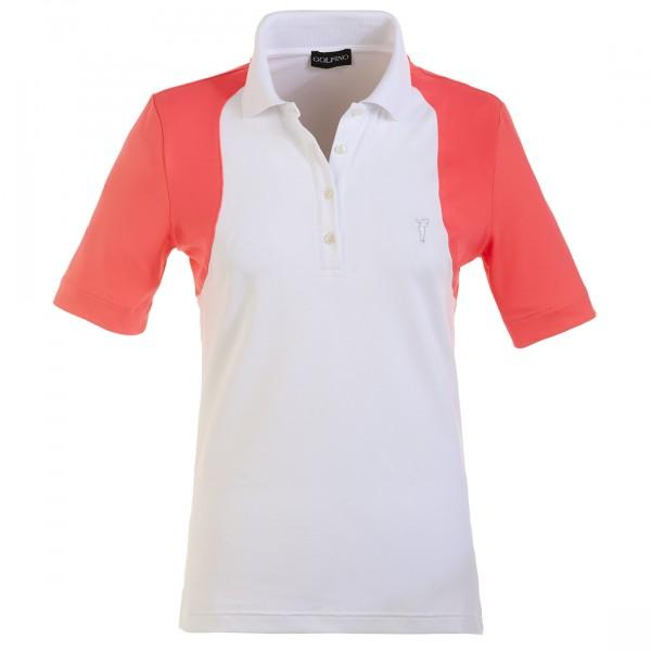 GOLFINO Kurzärmeliges Stretch Poloshirt