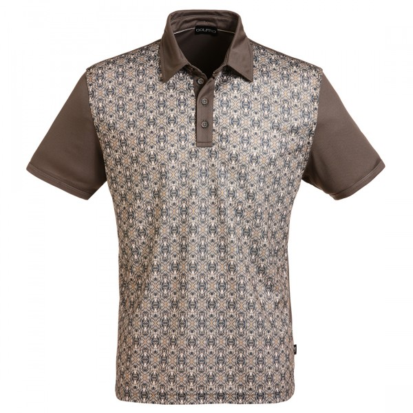 GOLFINO Jacquard Poloshirt