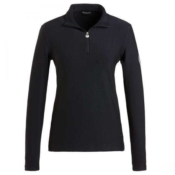 GOLFINO Innovativer Fleece Sweater Schwarz