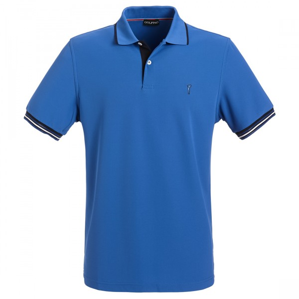 GOLFINO Slim Fit Herren Funktions Golfpolo mit Moisture Management und UV Protection