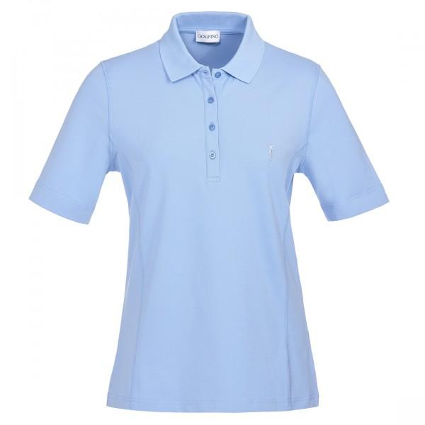 GOLFINO Slim Fit Damen Golfpolo mit Sun Protection und exzellenten Stretcheigenschaften