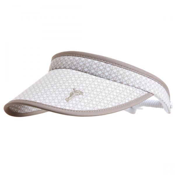 GOLFINO Damen Golf Visor, verstellbar über elastisches Band
