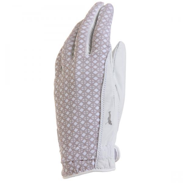 GOLFINO Leder Damen Golfhandschuh mit Print