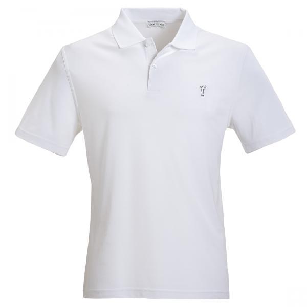 GOLFINO Klassisches Herren Golfpolo aus Dry Comfort Piqué
